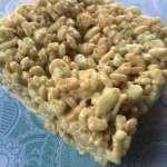 Lime Rice Crispy Treats #Recipe