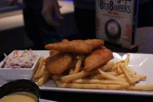 Beer Battered Fish & Chips from Main Event Entertainment