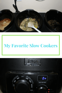 All of my favorite slow cookers.
