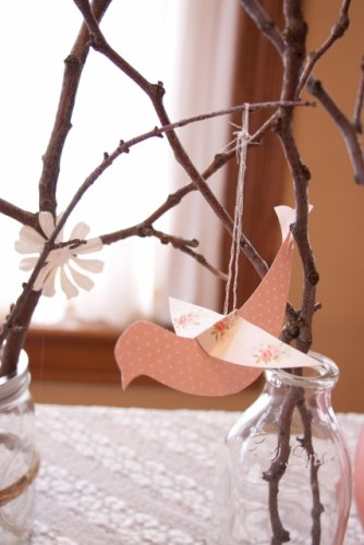 pink bird and branches inspired paper bird (427x640)