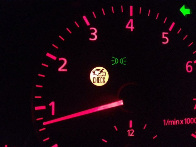 Audi B5 A4 Check Engine Light https://www.flickr.com/photos/stephenmellentine/