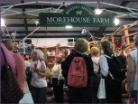 The Morehouse Merino Farms booth was very crowded!