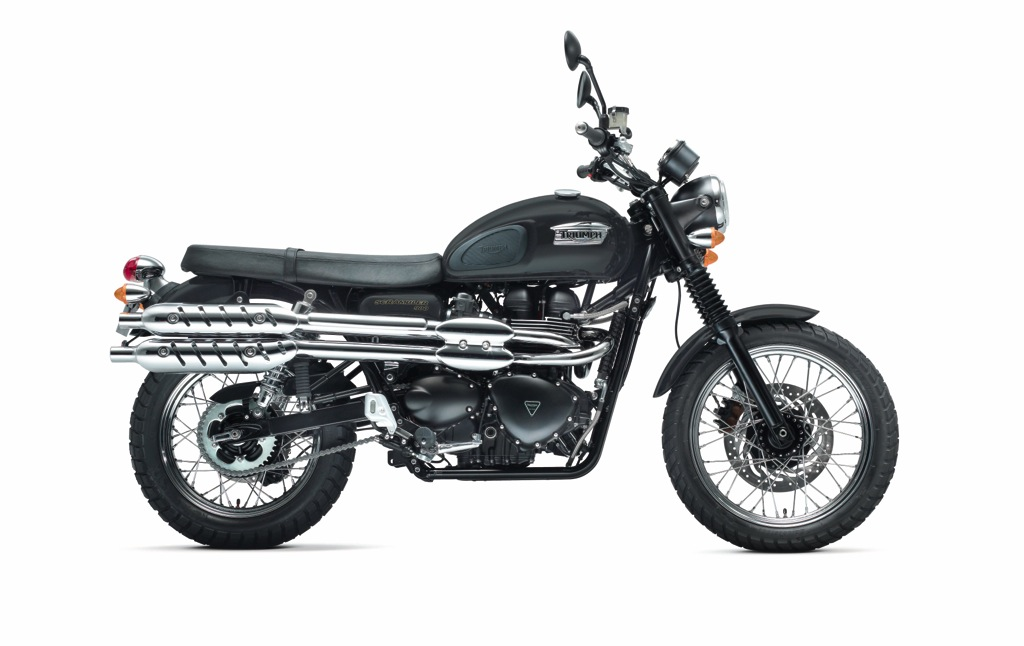 Scrambler Matt Black