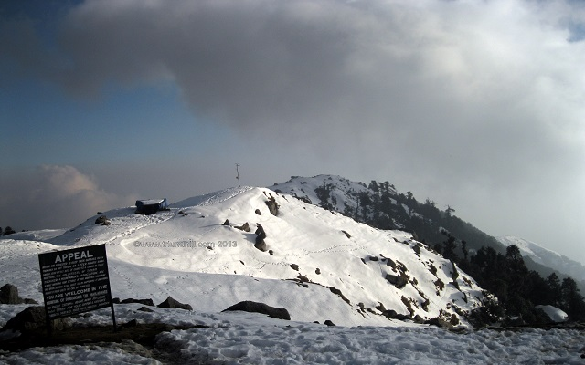Triund Hill East South View