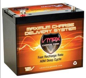 Vmaxtanks MR107 trolling motor battery