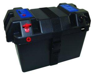minn kota battery box