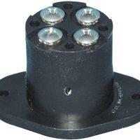 T-H Marine TMFR-1-DP Trolling Motor Power Plug and Receptacle - Female