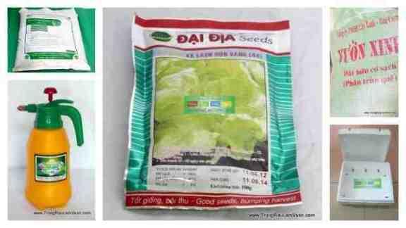 Bộ dụng cụ để trồng và lách tại nhà gồm khay xốp, xơ dừa xử lý, đất dinh dưỡng,hạt giống, bình phun nước