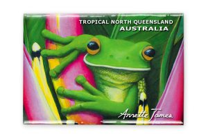 Tree Frog Fridge Magnet
