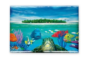 Turtle Fridge Magnet