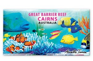 Wrasse & Clown Fish Fridge Magnet