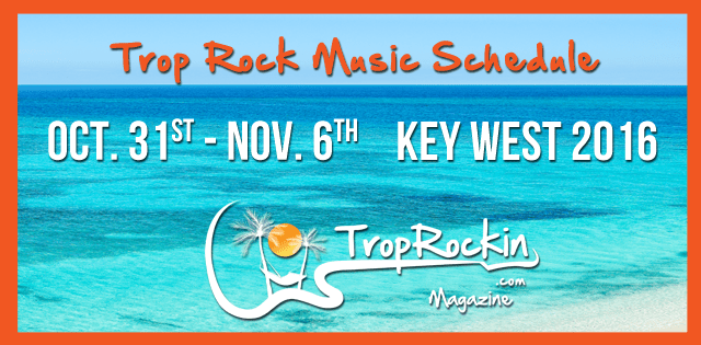 Trop Rock Music Schedule / MOTM
