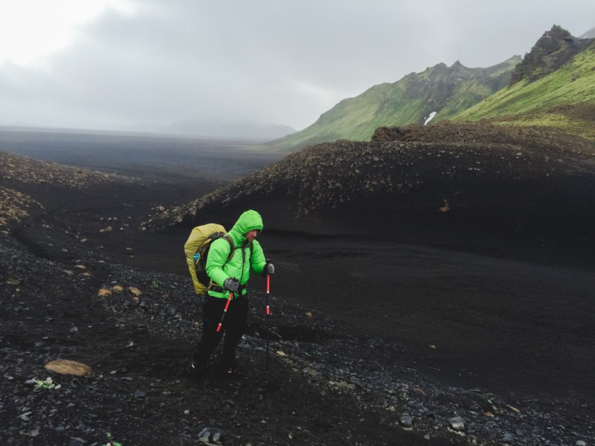 Landmannalaugar trail - Cold human, volcanic ash and green mountains!