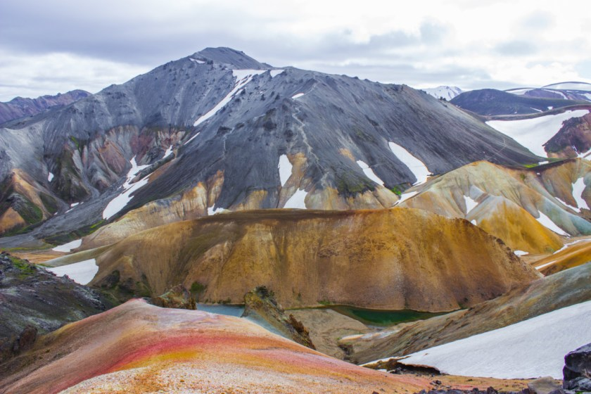 Painter's palette - Landmannalaugar trail