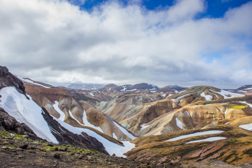 Between Landmannalaugar and Alftavatn