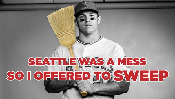 Mike Trout and the Angels sweep Seattle