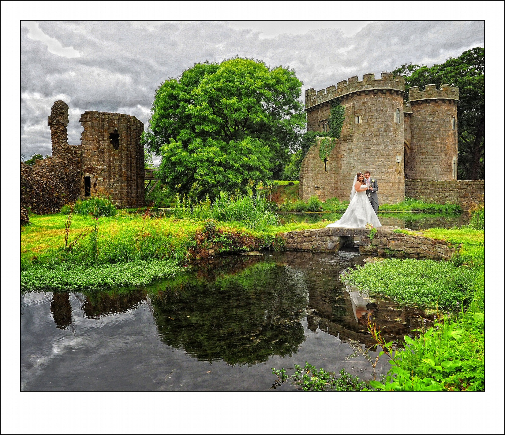 Wedding photographer recommended by the Whittington Castle