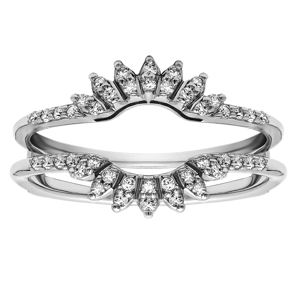ring guards wedding ring guard When buying ring guards it is advisable to go for one size larger Resizing a ring guard is very difficult and a task rarely performed