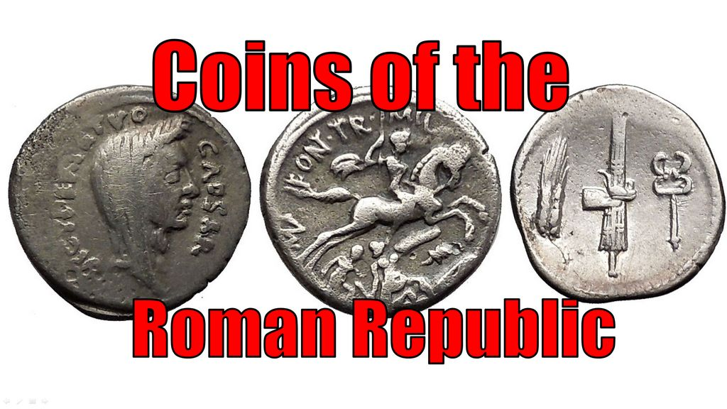 The Types of SILVER Ancient coins of ROMAN REPUBLIC