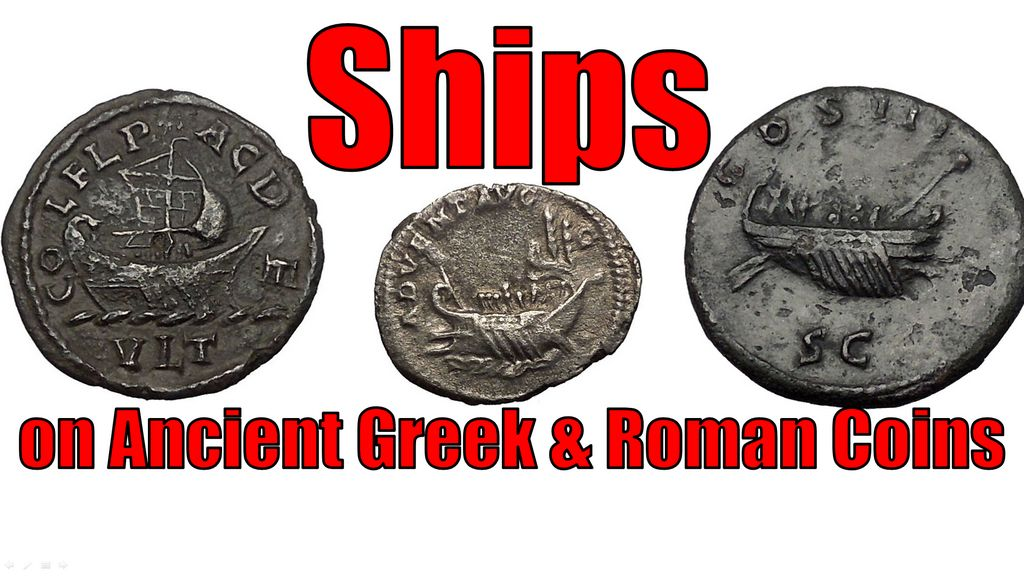 SHIPS as Galleys & Triremes on Ancient Greek & Roman Coins