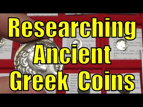 ANCIENT GREEK COINS Research How To & Checklist Article & Video
