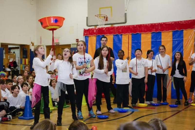 Circus Project in Glenwood Landing and Glen Head Schools