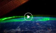 NASA invites us to admire the Aurora Borealis from space. (Video)