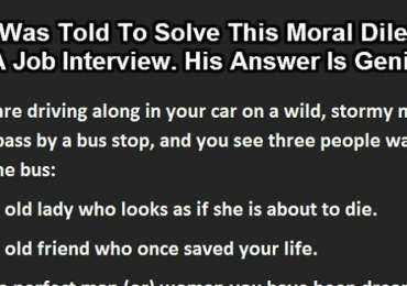 Best Job Interview Answer Ever