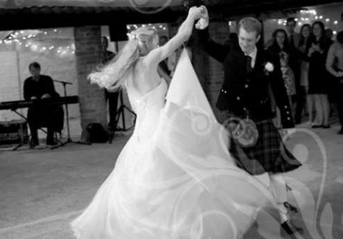 triple scotch ceilidh band weddings