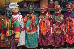 Tshechu, a religious festival in Bhutan. Photo by Arian Zwegers.