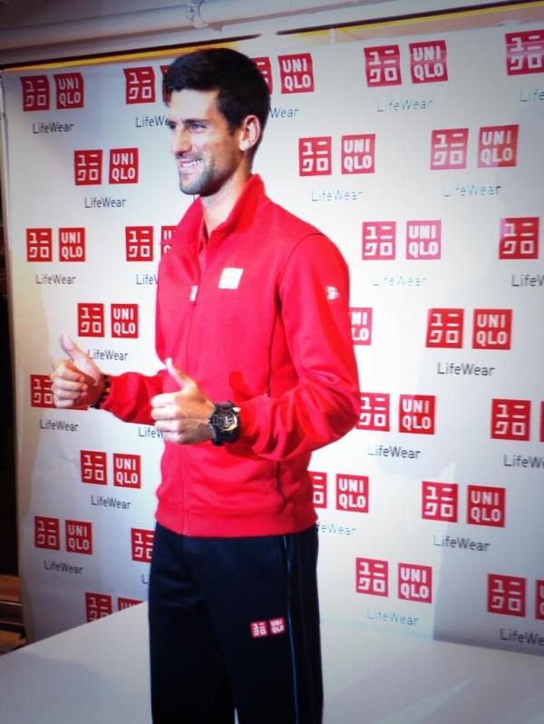 Novak Djokovic - #meetnovak - Uniqlo - U.S. Open 2013