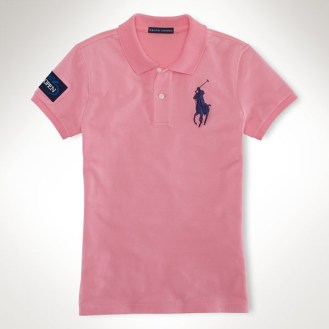Ralph Lauren U.S. Open 2013 - Women's Pink Polo
