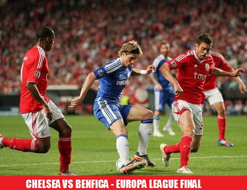 Benfica vs Chelsea Europa League final live stream