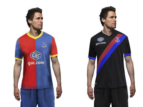 Crystal Palace shirts home away EPL 2014