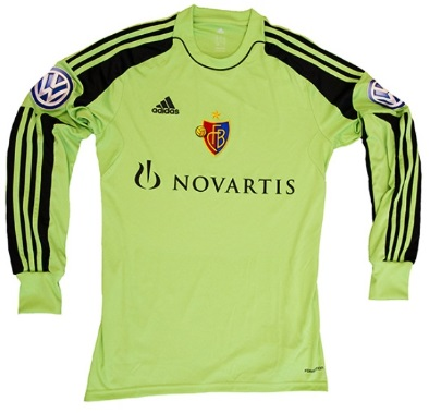 Basel goalkeeper kit 2014