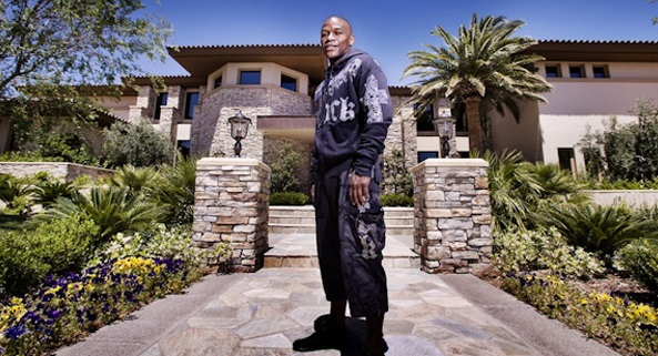 Floyd Mayweather Las Vegas Mension net worth