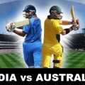 India vs Aus Live Match 2013 Stream