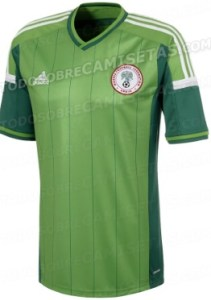Nigeria World CUp 2014 Kits