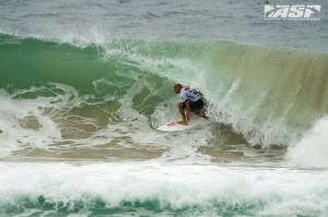 Kelly Slater (USA), 41, 11-time ASP World Champion and 2012 ASP World Runner-Up, defeated the reigning ASP World Champion Joel Parkinson (AUS), 31, in firing Kirra barrels at the Quiksilver Pro Gold Coast. - COURTESY ASP WORLD TOUR