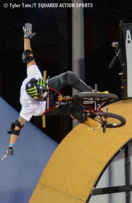 Jamie Bestwick BMX Vert X Games Austin 2014