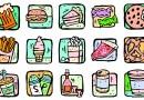 Cum arata 200 kcal din diverse alimente