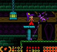 A colorful screenshot of Shantae.