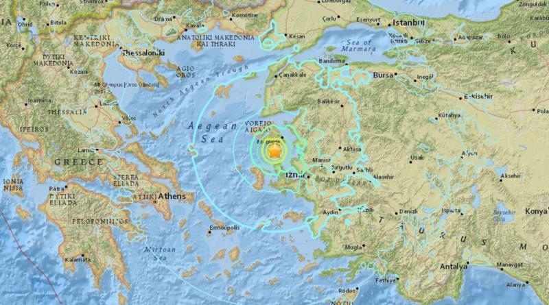 Izmir Earthquake 6.2 Magnitude