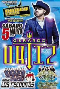 Gerardo Ortiz y Los Recoditos en Rodeo Texcoco @ Rodeo Texcoco | Tepexpan | Estado de México | México