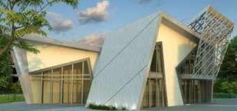 Una enorme vivienda prefabricada de 515 metros cuadrados