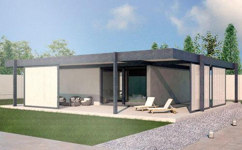 Casas prefabricadas funcionales y minimalistas - Casas prefabricadas minimalistas ...