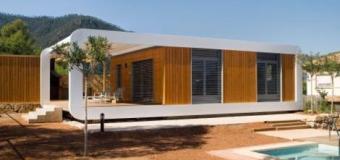 Casas Eco high-tech prefabricadas modernas en semanas
