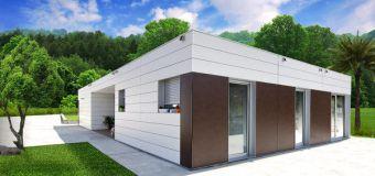 Smart homes, Casas modulares con fachada ventilada.