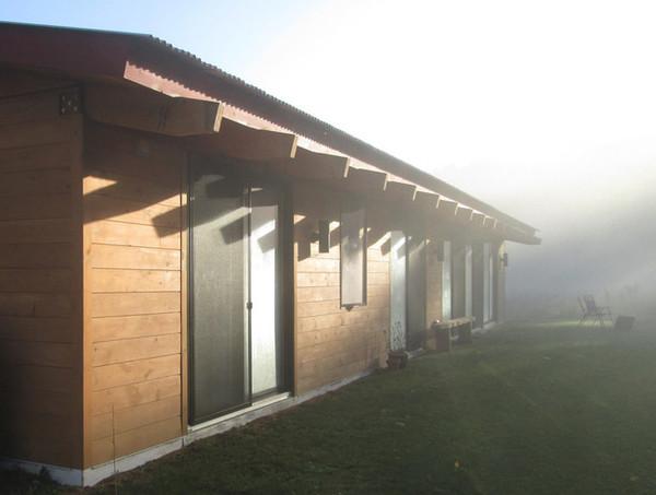 Kit de Casa prefabricada de madera eco amigable