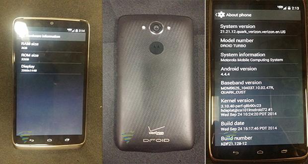 Nova Foto Revela Motorola Droid Turbo